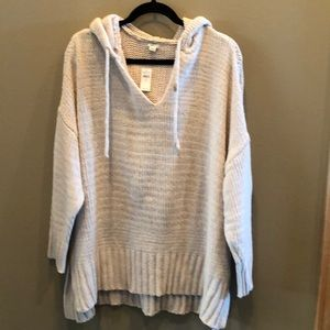 NWT Hooded Sweater